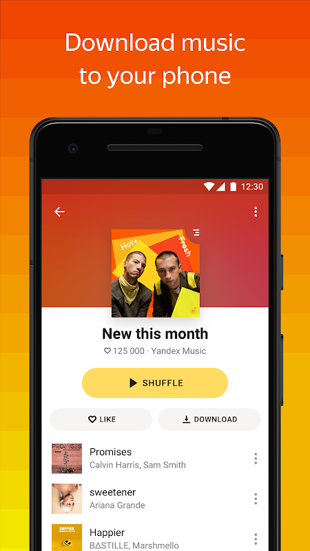 Yandex Music — listen and download The App Store