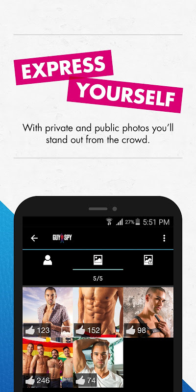GuySpy: Gay Dating & Chat App The App Store android Code Lads