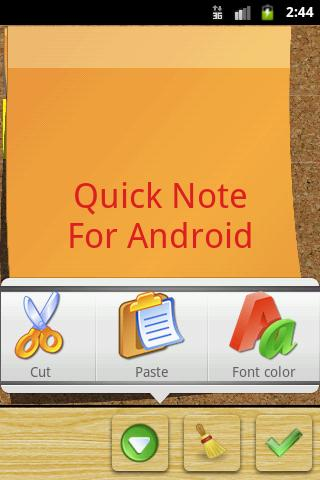 Screenshot Quick Note sticky note widget APK