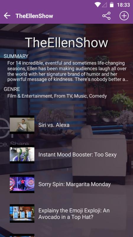 Screenshot Stremio for Android APK