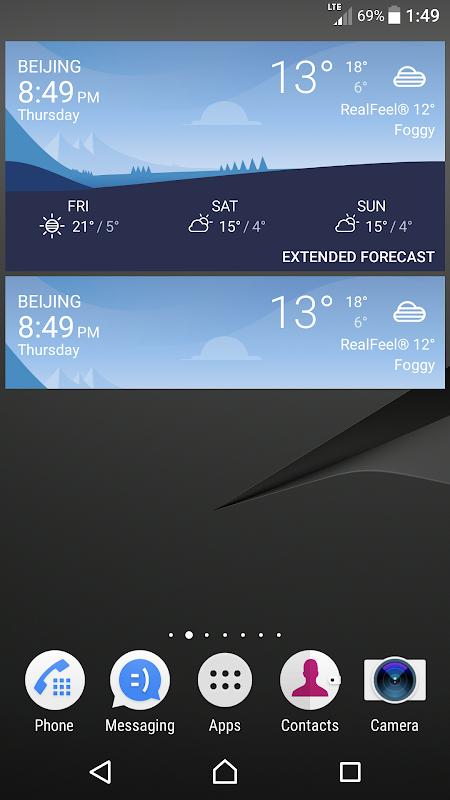 Screenshot Weather APK