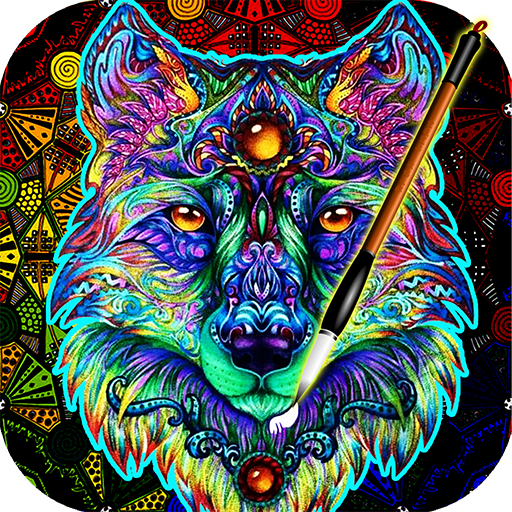 Coloring Book For Adults Free 【ColorWolf】 🐺| 🇬🇧