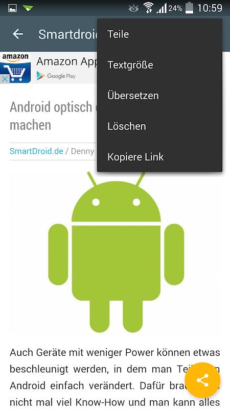 Screenshot News für Android APK