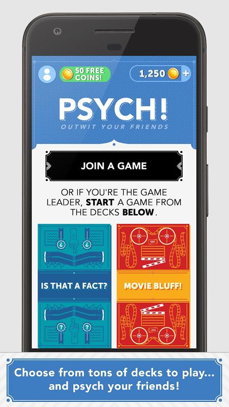 Screenshot Psych! Outwit Your Friends APK