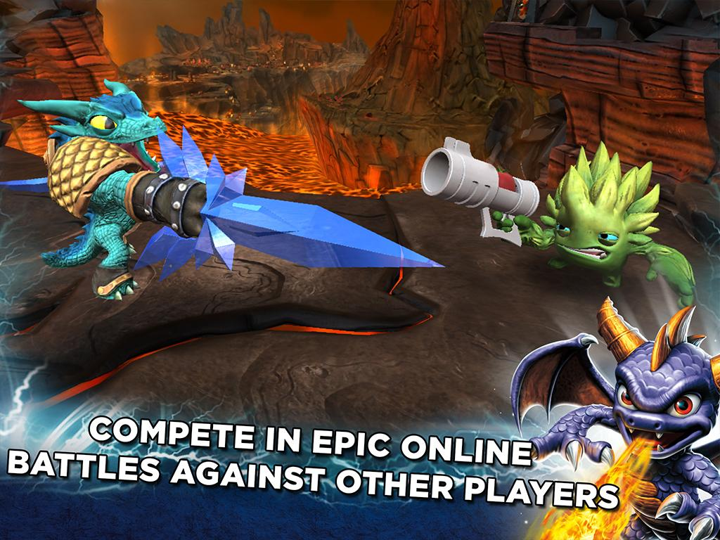 Skylanders Battlecast The App Store android Code Lads