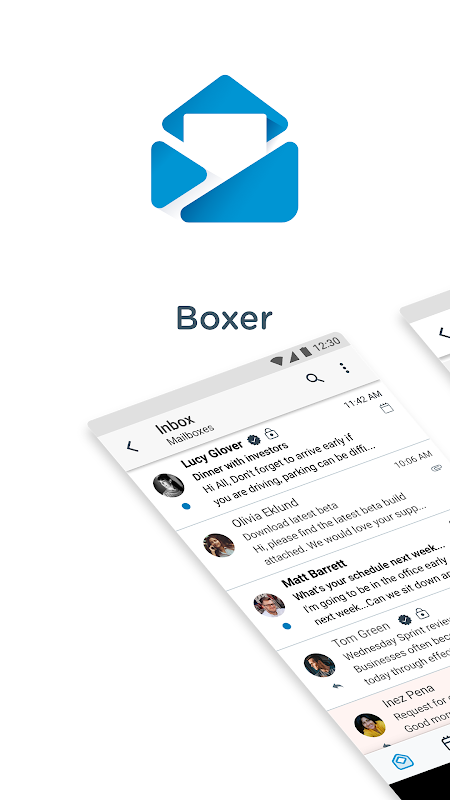 Screenshot Boxer - Workspace ONE APK