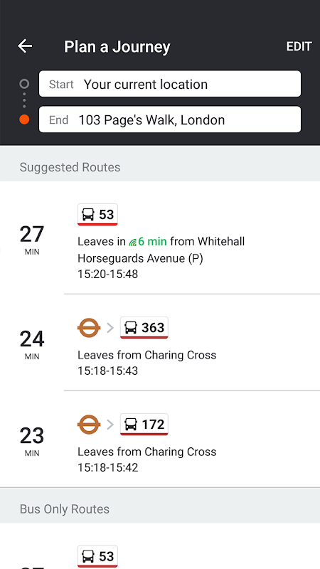 Screenshot Moovit: Bus, Rail, Timetables, Maps APK