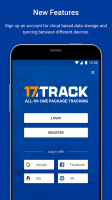 ALL-IN-ONE PACKAGE TRACKING Screen