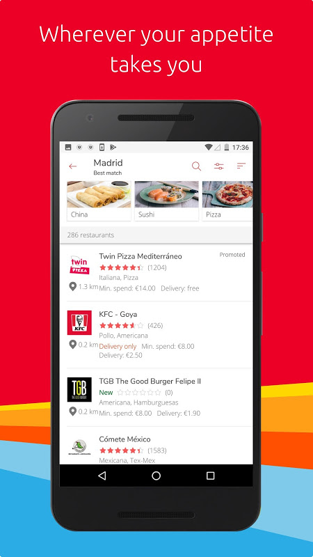 Just Eat - Order Food Online The App Store android Code Lads