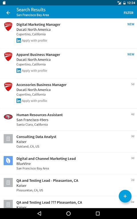 Screenshot LinkedIn Job Search APK