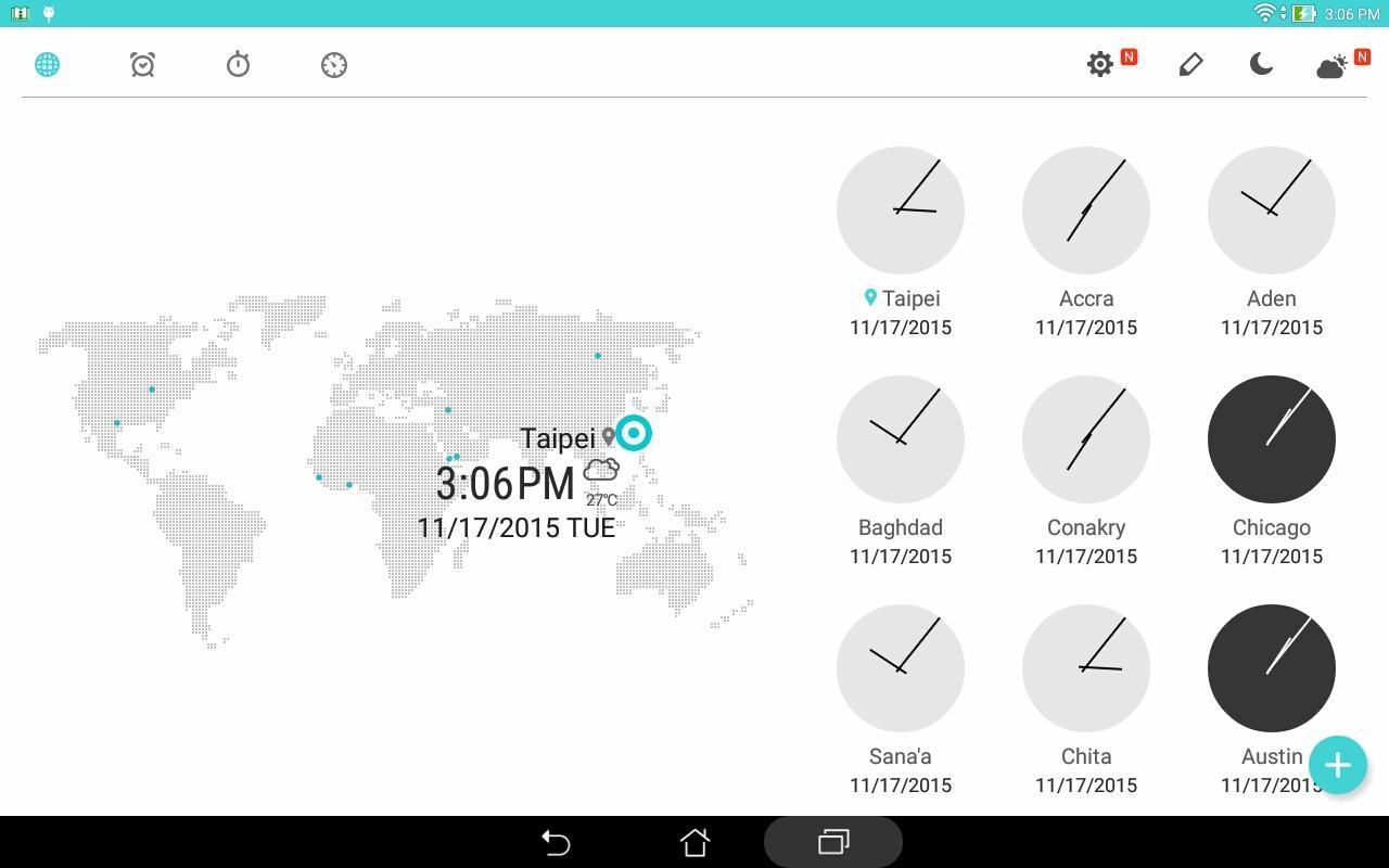 ASUS Digital Clock & Widget The App Store