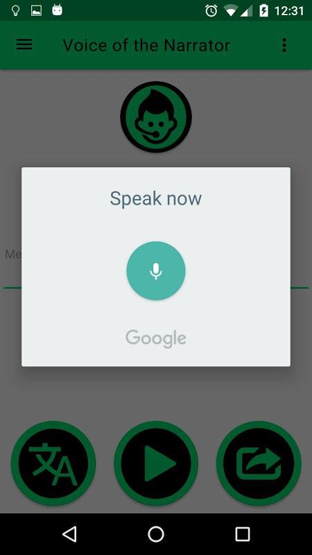 Narrator's Voice The App Store