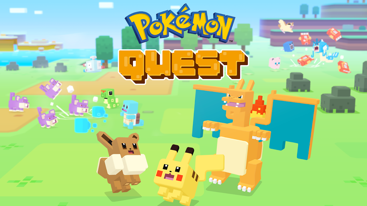 Pokémon Quest The App Store android Code Lads