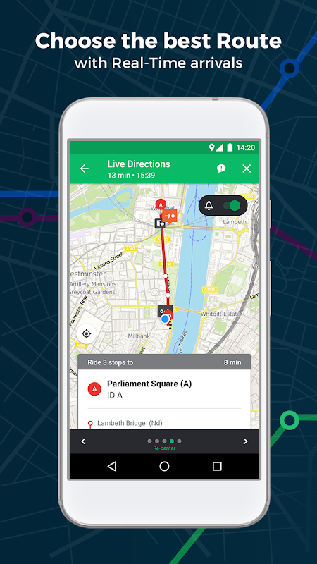 Screenshot Moovit: Bus, Rail, Tube, Maps APK