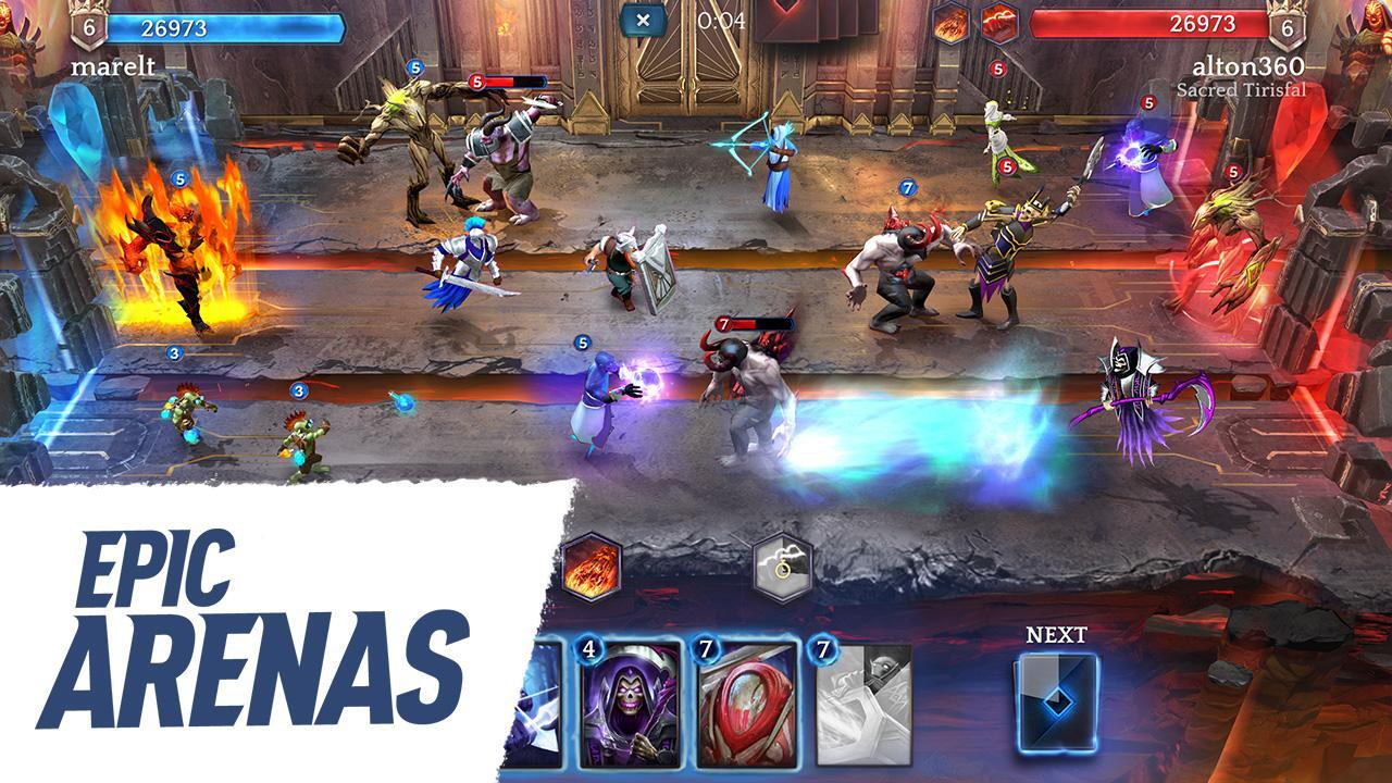 Screenshot Heroic - Magic Duel APK