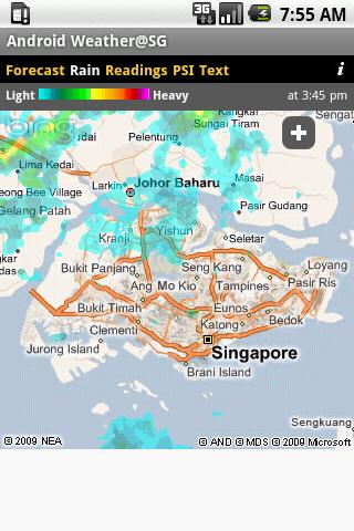 Screenshot Android Weather@SG APK