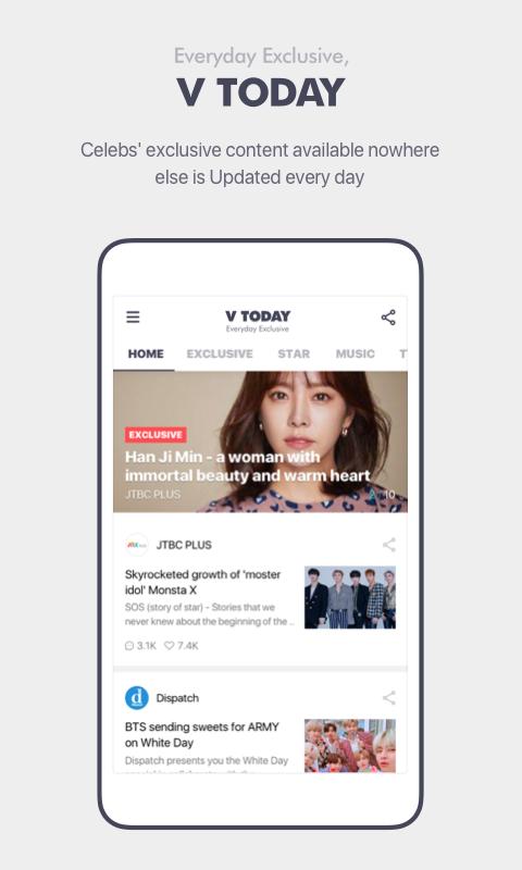V – Live Broadcasting App The App Store