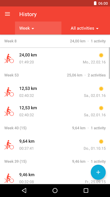 Runtastic Road Bike PRO The App Store android Code Lads