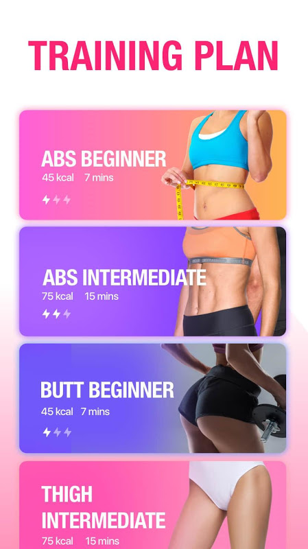 Female Fitness - Women Workout The App Store android Code Lads