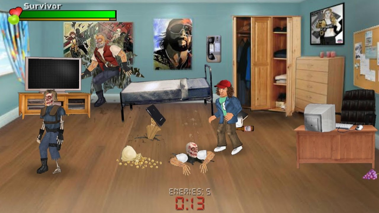 Screenshot Extra Lives (Zombie Survival Sim) APK
