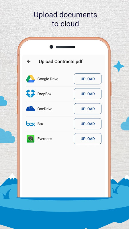 Screenshot Easy Scanner - Camera to signed PDF APK