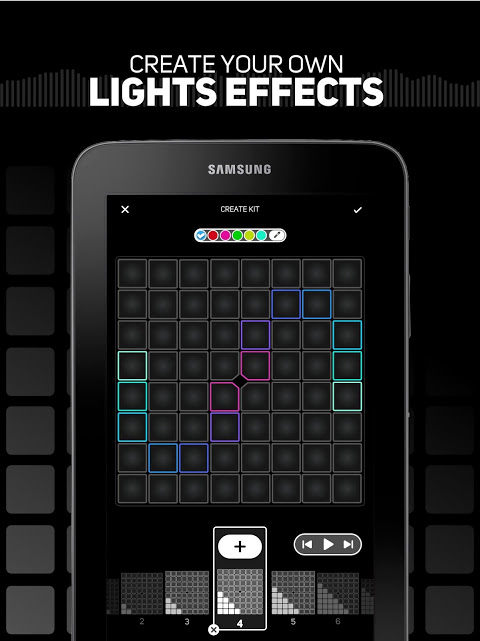 SUPER PADS LIGHTS - Your DJ app The App Store android Code Lads