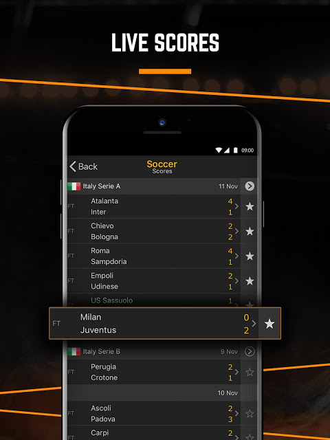 LiveScore: Live Sport Updates The App Store android Code Lads