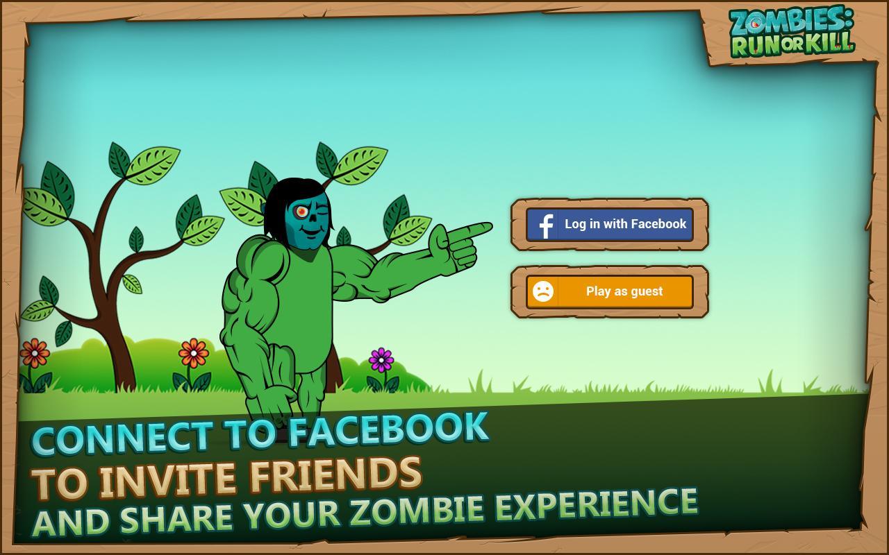 Screenshot Zombies: Run or Kill APK
