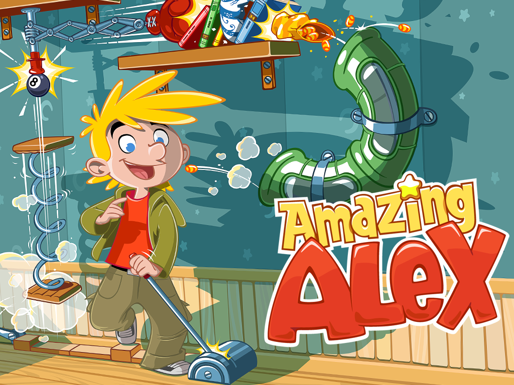 Amazing Alex HD The App Store