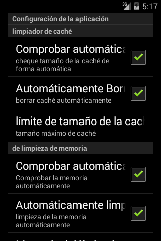 Screenshot Android Speed Booster APK