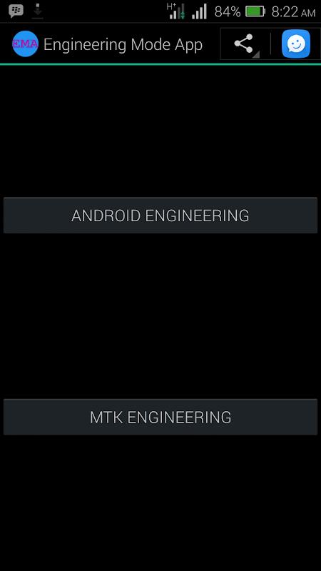 Screenshot MTK Engineering Mode - Advanced Settings & Tooling APK