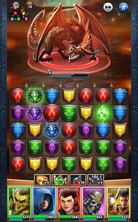 Screenshot Empires & Puzzles: RPG Quest APK