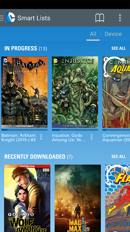 DC Comics The App Store android Code Lads