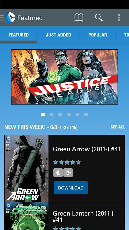 DC Comics The App Store