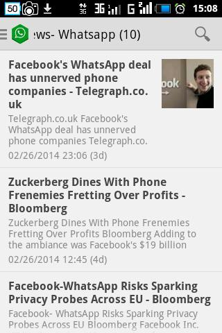 Screenshot Whatsapp News &Android Updates APK