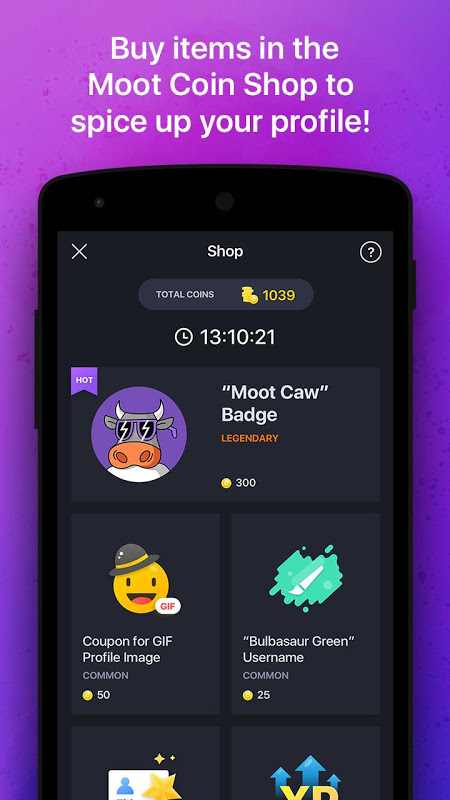 Moot - LFG & Gaming Discussion The App Store android Code Lads