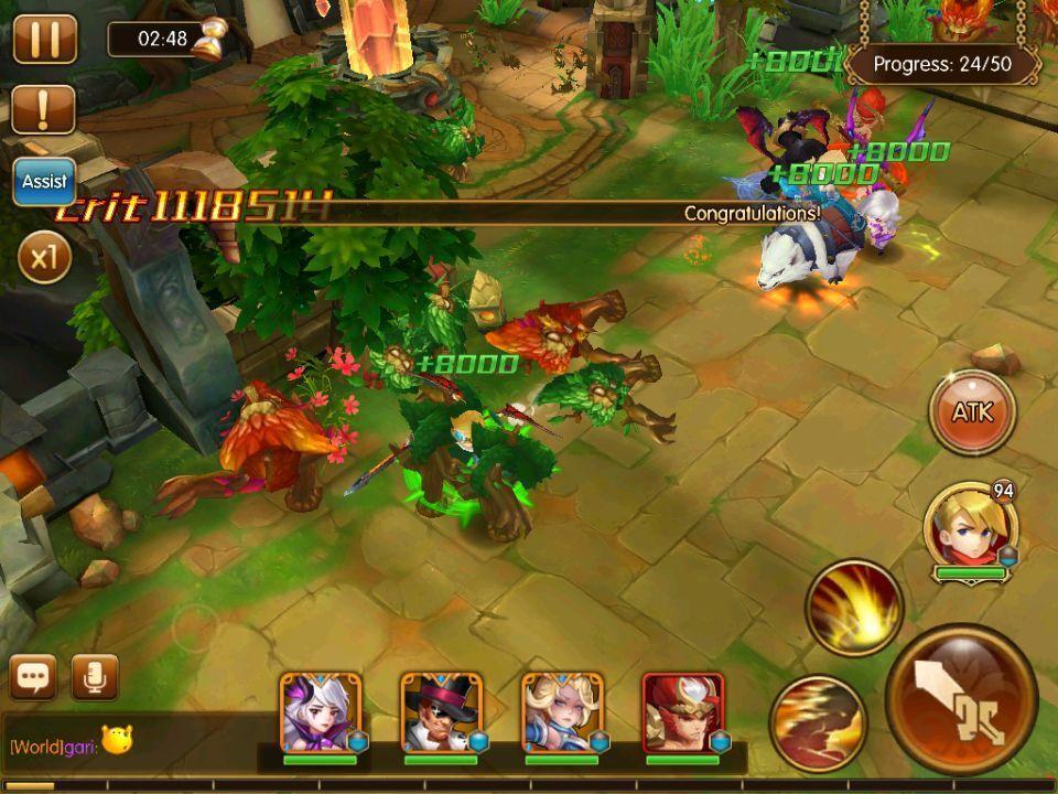 Screenshot Pocket Knights 2 APK