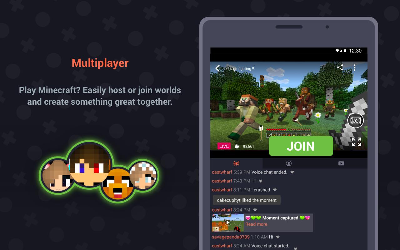 Screenshot Omlet Arcade - Stream, Meet, Play APK