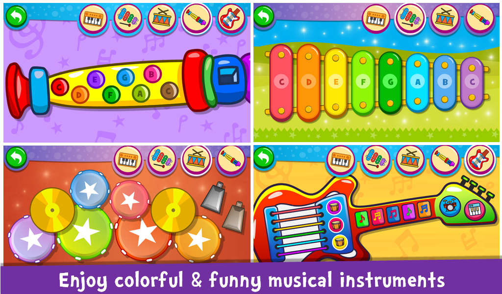 Screenshot Piano Kids - Music & Songs APK