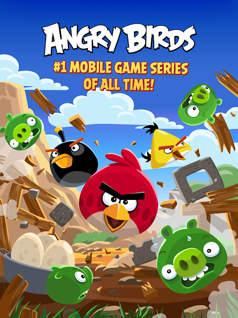 Screenshot Angry Birds APK