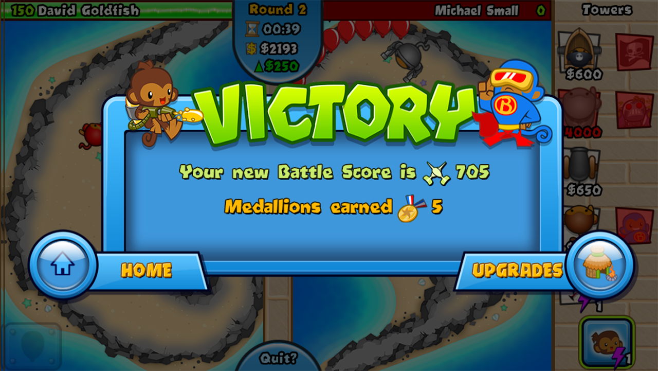 Screenshot Bloons TD Battles APK