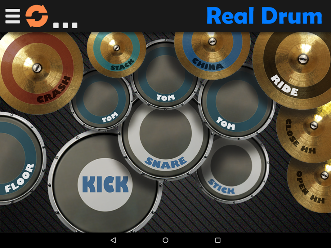 Real Drum - The Best Drum Pads Simulator The App Store android Code Lads
