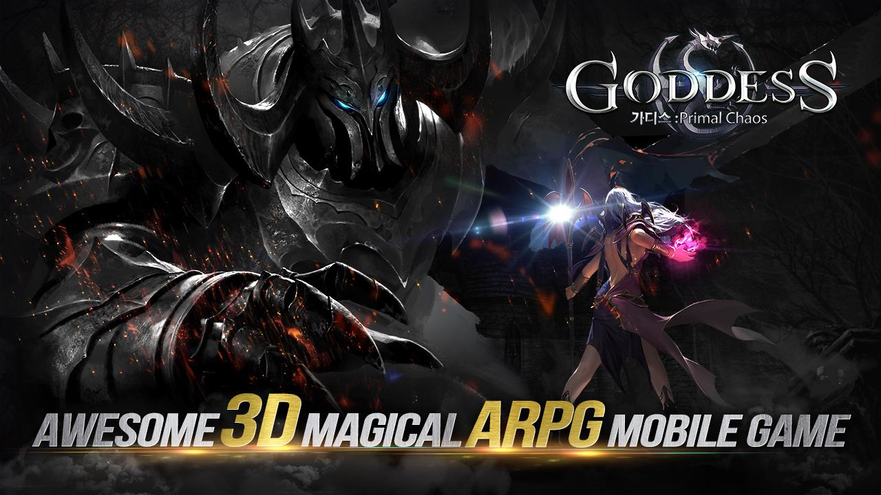 Goddess: Primal Chaos - en The App Store android Code Lads