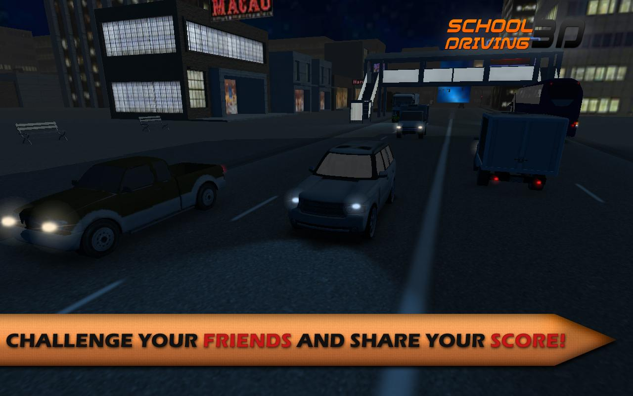 Screenshot School Driving 3D APK
