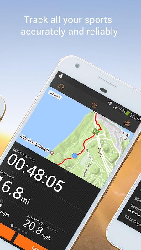 Screenshot Sports Tracker Running Cycling APK