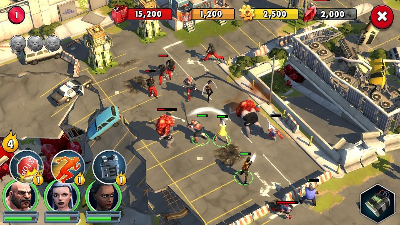Zombie Anarchy: Survival Strategy Game The App Store android Code Lads