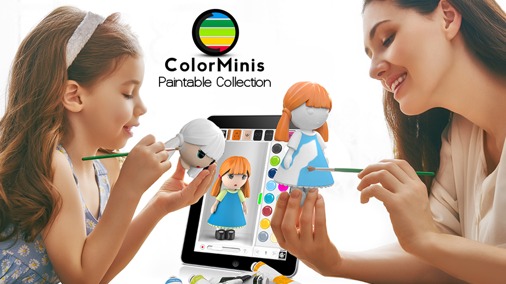 Screenshot ColorMinis Collection -Making 3D art coloring real APK