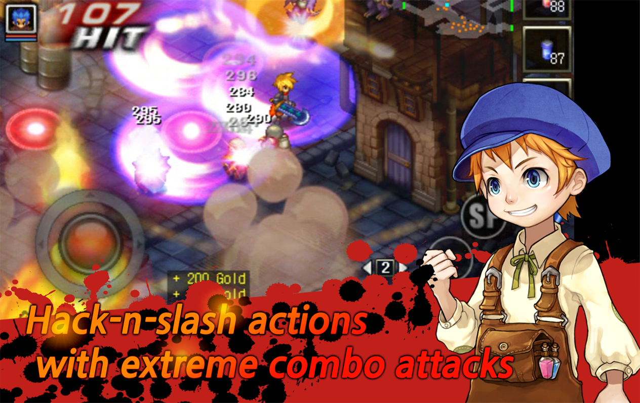 Screenshot Mystic Guardian VIP : Old School Action RPG APK