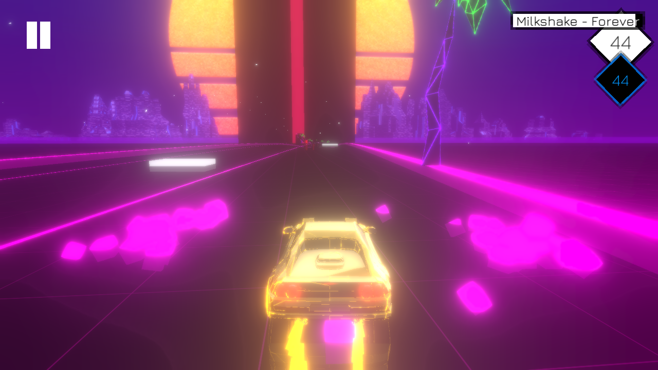 Screenshot Music Racer APK