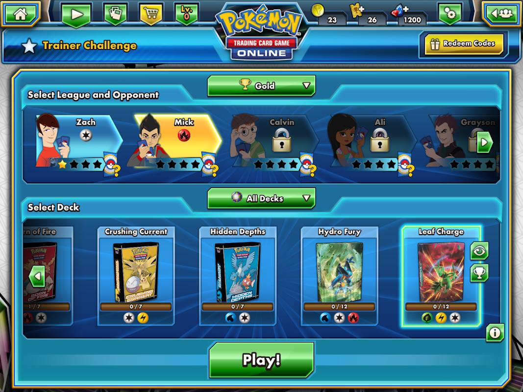 Screenshot Pokémon TCG Online APK